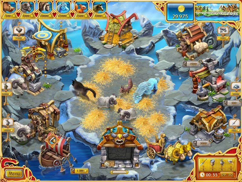 Farm Frenzy: Viking Heroes screen shot