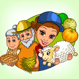 Farm Mania - Help Anna save her family's farm in the time management game Farm Mania! - logo