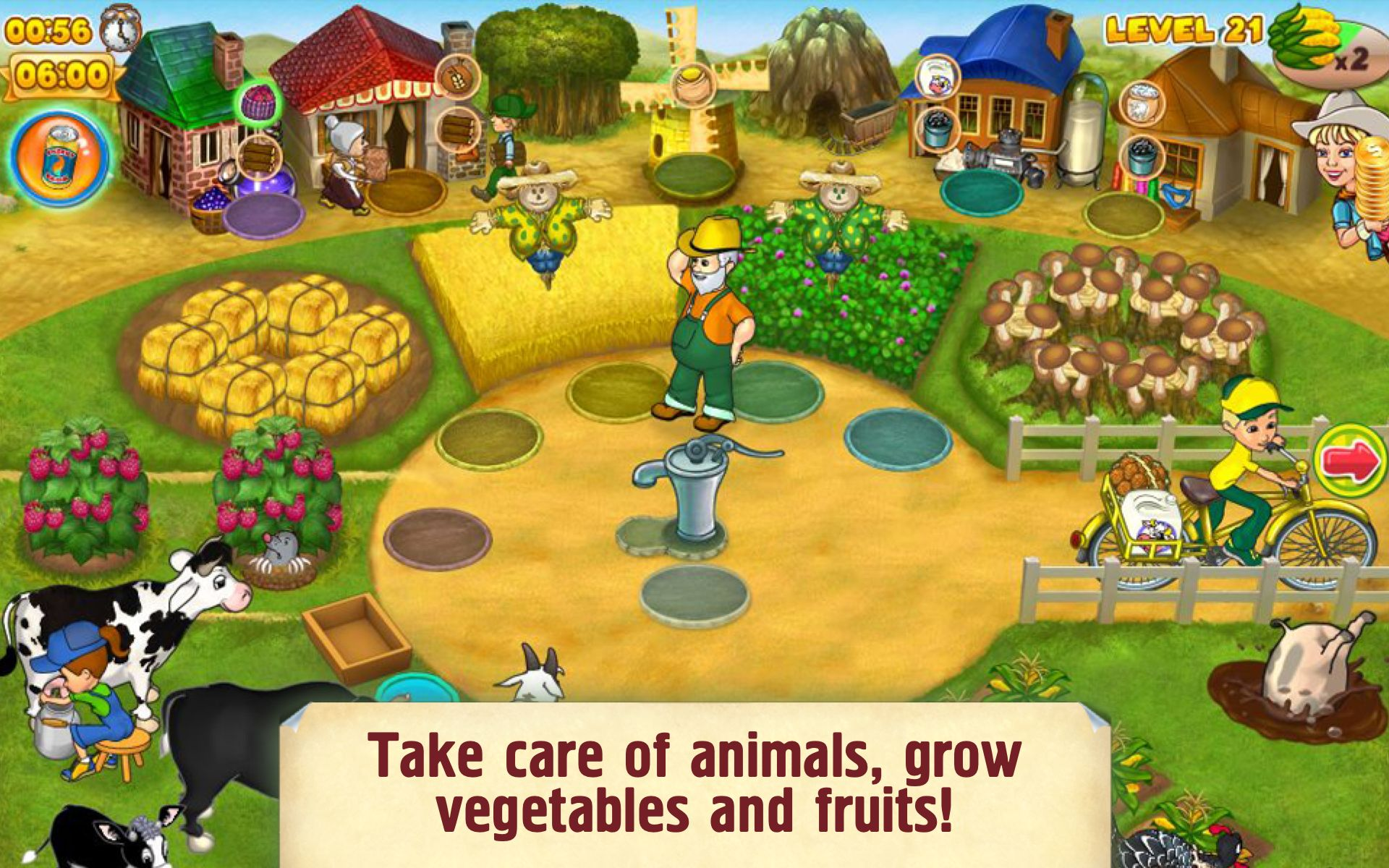 Farm Mania 2 screen shot