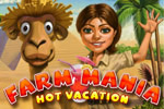 Adrente-se no divertido mundo das fazendas com Farm Mania: Hot Vacation!