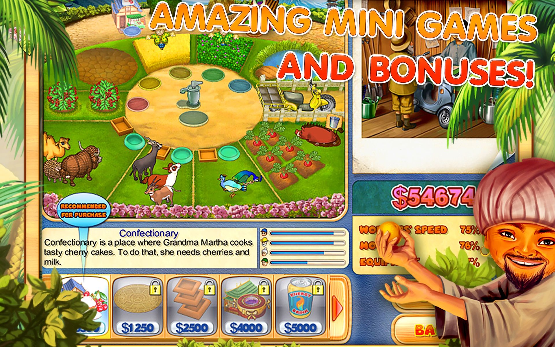 Farm Mania: Hot Vacation screen shot