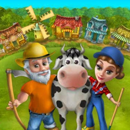 Farm Mania Online - Farm Mania is now online and free to play! Leave behind the noisy city and enjoy the country life as you work on your farm. - logo