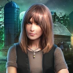 Farm Mystery - What is happening to the people of the Happy Orchard Farm?  Uncover the secrets of this haunted place in the hidden object game - Farm Mystery! - logo