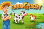 Join four animal helpers and run your own farm— not as easy as it looks! Play FarmQuest today!