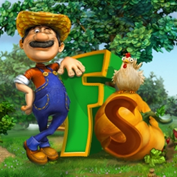 Farmscapes - Farmscapes™ is a special blend of match 3, hidden object, and simulation! - logo
