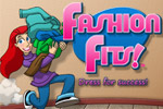 Help frantic Francie run a fast-paced clothing store in 55 frilly levels.