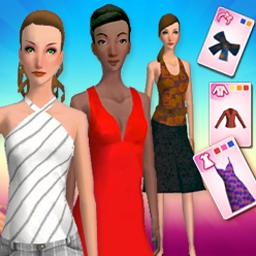 Fashion Solitaire - Classic solitaire meets runway fashion fun! - logo