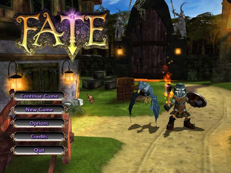 FATE screen shot