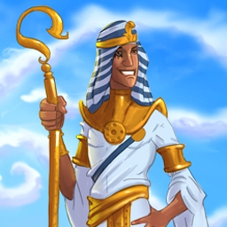 Fate of the Pharaoh - Expand your realm as a brave young ruler in Fate of the Pharaoh, a fun Time Management and city-building game! - logo