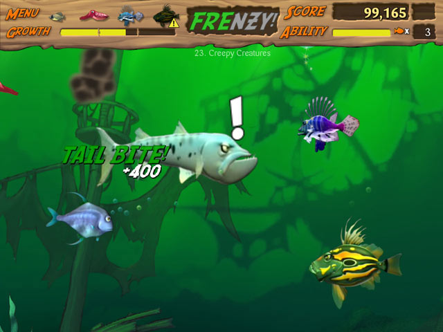 Feeding Frenzy screen shot
