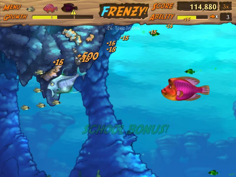 Feeding Frenzy 2 screen shot