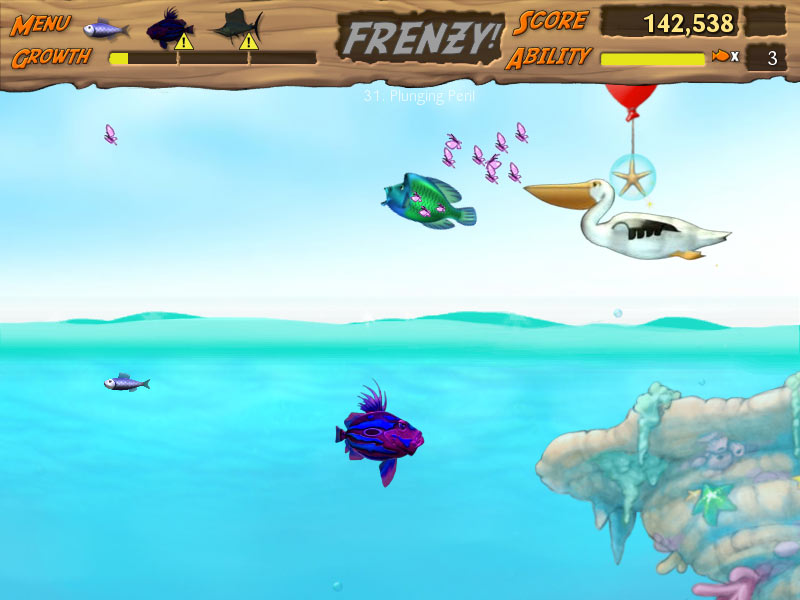 Feeding Frenzy 2 screen shot