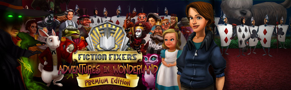 Fiction Fixers Adventures in Wonderland