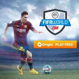 FIFA World - EA SPORTS™ FIFA World features award-winning gameplay, real teams & real players. Lead your club & country to victory or build your Ultimate Team. - logo