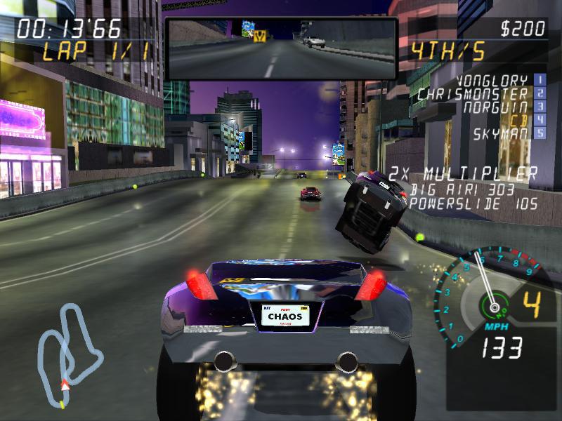 Final Drive Fury screen shot