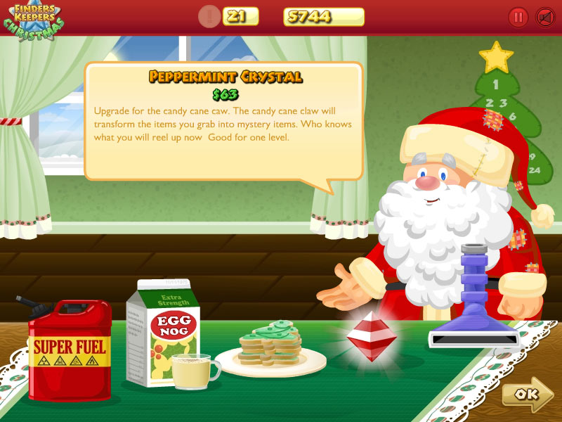 Finders Keepers Christmas screen shot