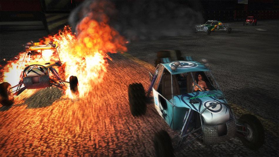 Fireburst screen shot