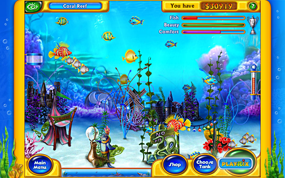 Fishdom screen shot