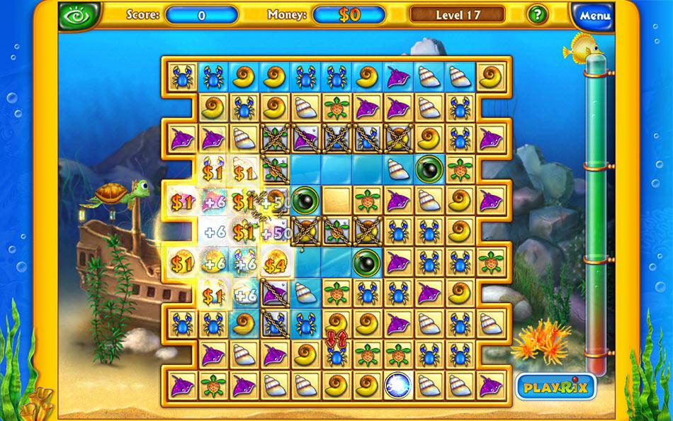 Fishdom screen shot