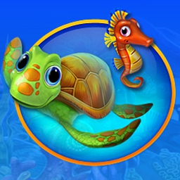 Fishdom (TM) 2 - Swap colorful tiles to create the aquariums of your dreams in Fishdom™ 2! - logo