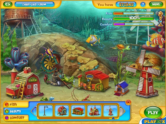 Fishdom (TM) 2 screen shot