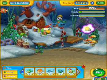 Fishdom - Frosty Splash screen shot