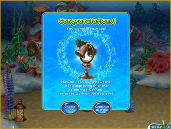 Fishdom - Frosty Splash screen shot