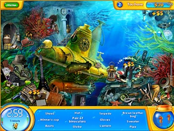 Fishdom H2O - Hidden Odyssey screen shot