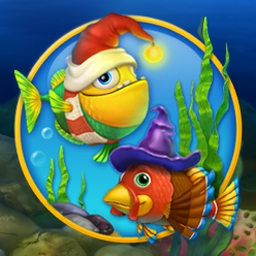 Fishdom: Seasons Under the Sea - Celebrate the holiday season with Fishdom: Seasons Under the Sea™! - logo