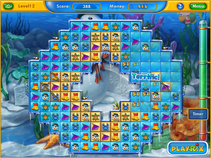 Fishdom: Seasons Under the Sea screen shot