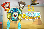 In Fish Hooks: Tank Bounce, stop bullies from catapulting fish from the tank! Use sponge platforms to bounce your fish friends into the safe tank.