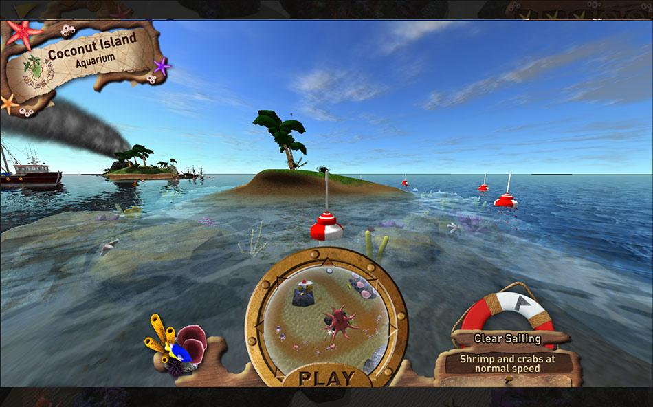 Fish vs. Crabs screen shot