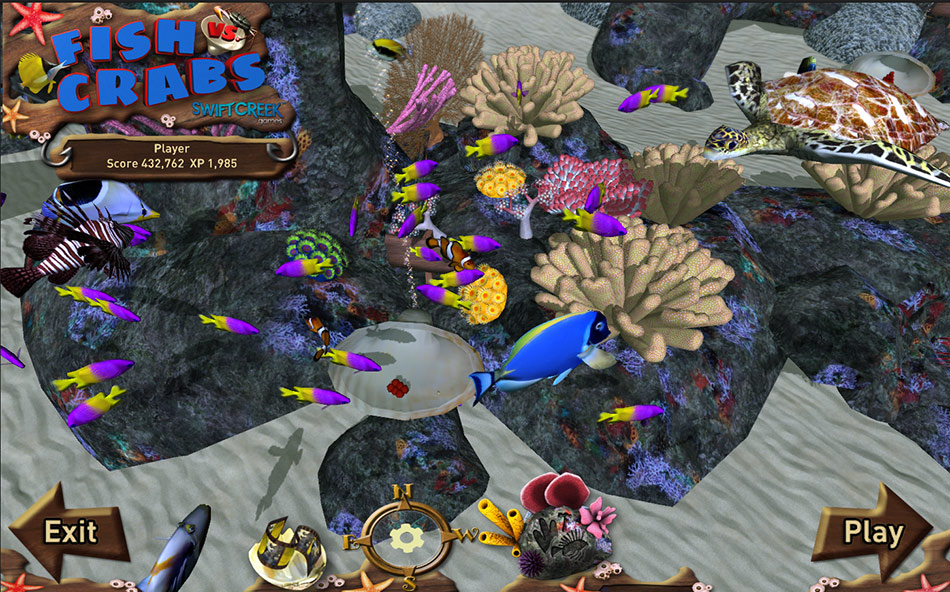 Fish vs. Crabs screen shot