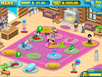 Fitness Frenzy screen shot