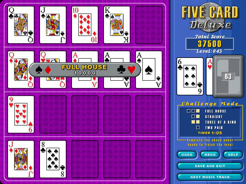5 Card Deluxe screen shot