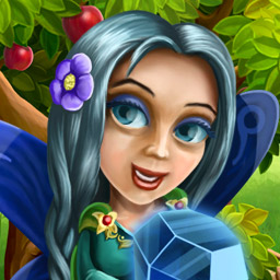 Floria - Collect the magical tiles and help this world live again. Match 3, find hidden objects and play solitaire in Floria! - logo
