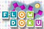 Link shapes instead of numbers in this fun and clever twist on Sudoku that was perfectly designed for touch screens.  It's FlowDoku!