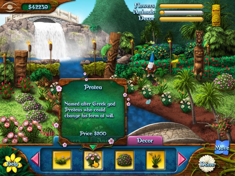 Flower Paradise screen shot