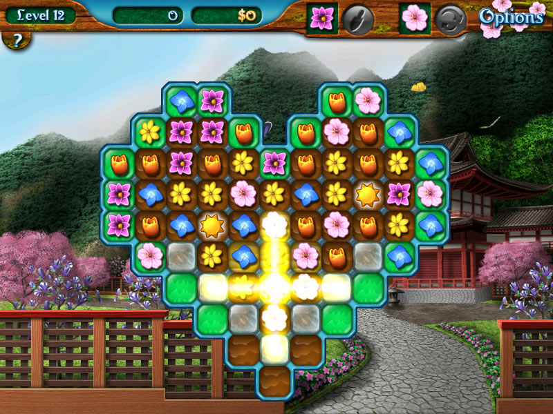 Flower Paradise screen shot