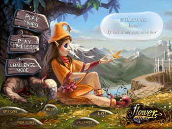 Flower Quest screen shot