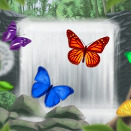 Fluttabyes - Help the butterflies to freedom in Fluttabyes! - logo