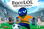 Turn your soccer game from football into FootLOL: Epic Fail League.  Use mines, aliens, cows, guns and many more cheats in this funny old game!