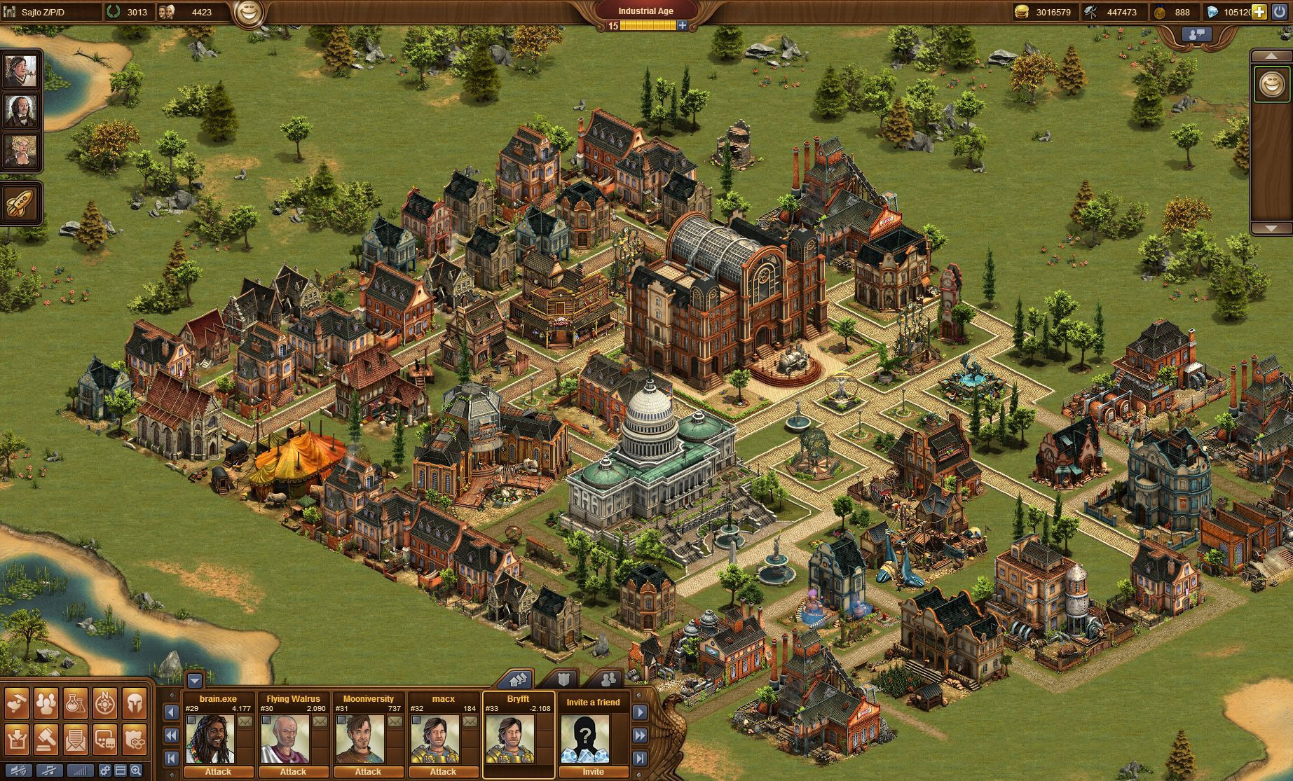 Forge Of Empires screen shot
