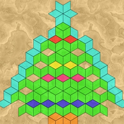 Frescoz! - Complete a handful of pictures by assembling pieces of different shapes in Frescoz!, a fun FREE puzzle game. - logo