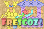 Complete a handful of pictures by assembling pieces of different shapes in Frescoz!, a fun FREE puzzle game.