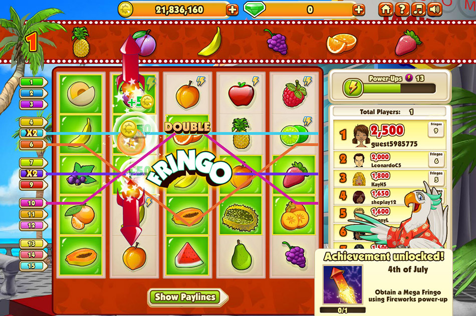 Fringo screen shot