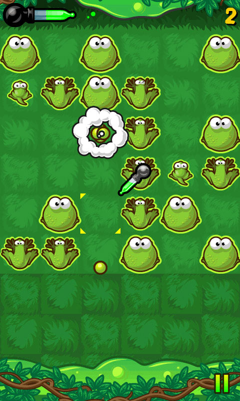 Frog Burst screen shot