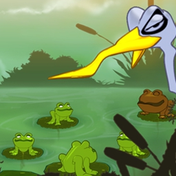 Frogs vs. Storks - Frogs vs. Storks is a fun strategy-puzzle game for all ages! - logo