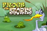 Frogs vs. Storks is a fun strategy-puzzle game for all ages!