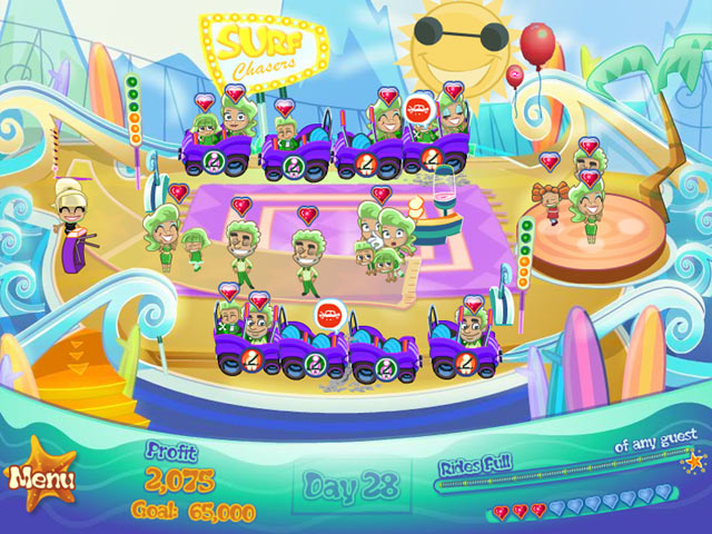 FunPark Beach Blast screen shot